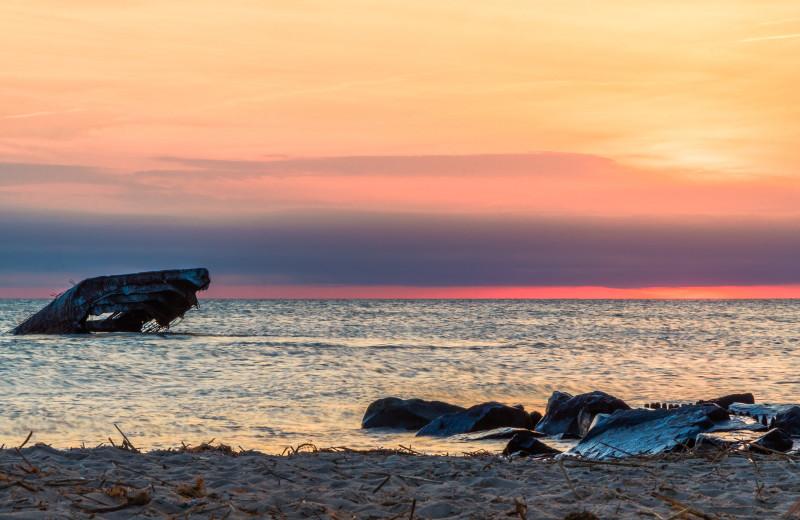Ship wreck near Jersey Cape Realty.