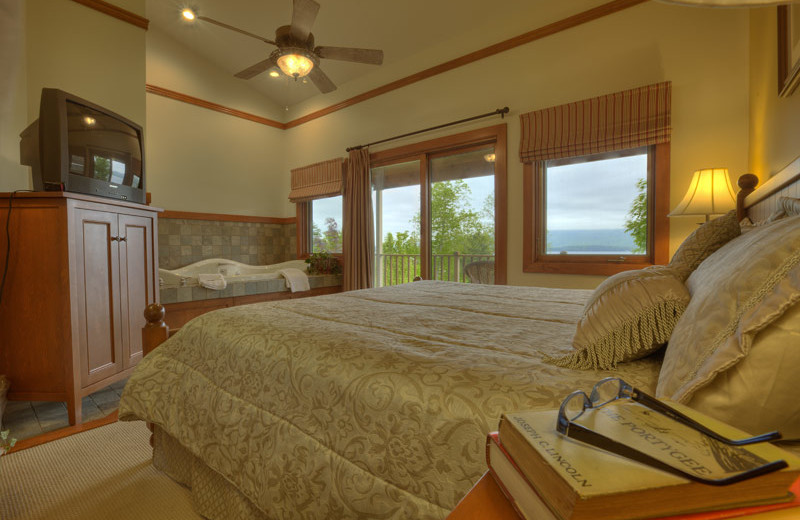 Guest room at Sun Castle Resort Lakefront.