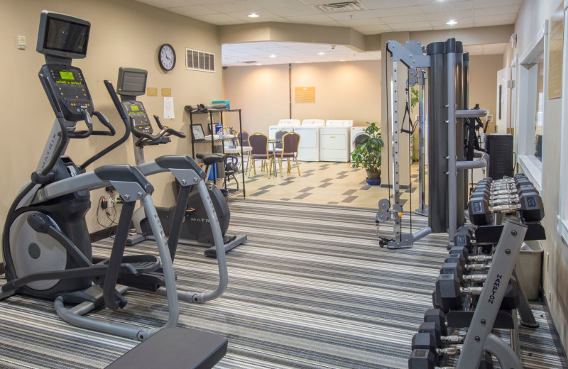 Fitness room at Candlewood Suites - Stevensville.