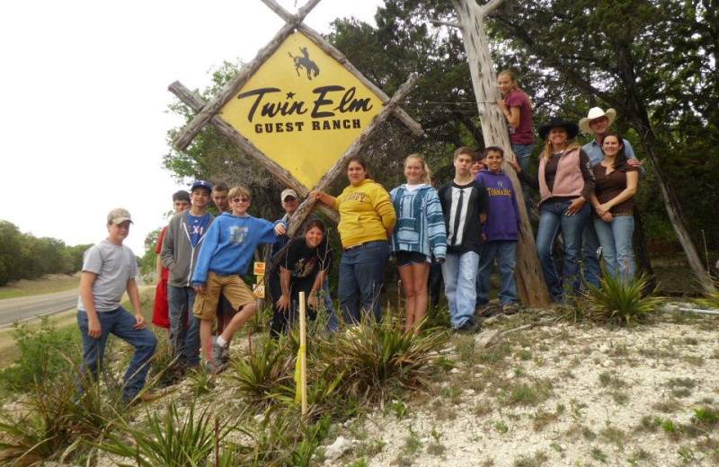 Group at Twin Elm Ranch.