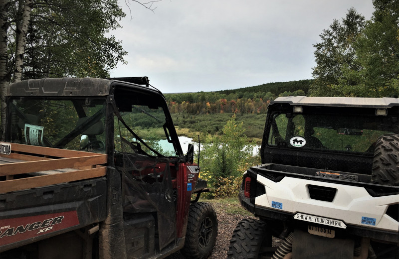 ATV at Wilderness Bay Lodge and Resort.