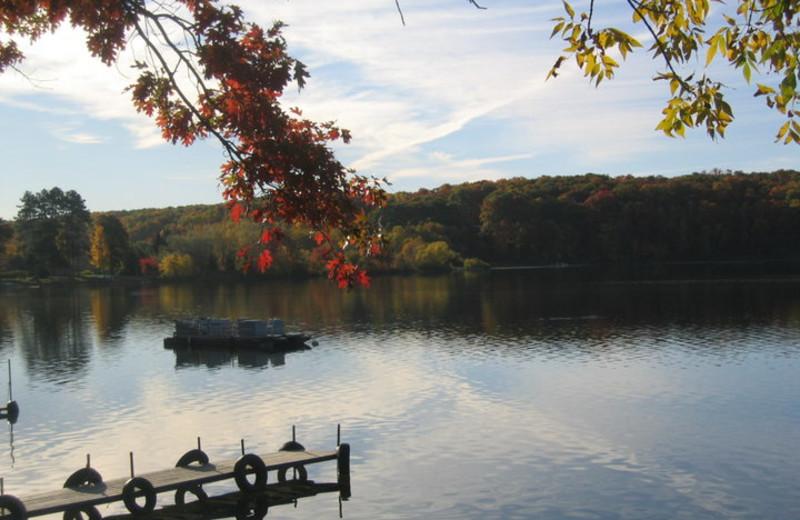 Lake at Kavanaugh's Sylvan Lake Resort.