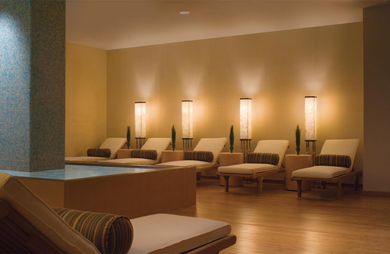 Spa relax room at The Westin Dawn Beach Resort.