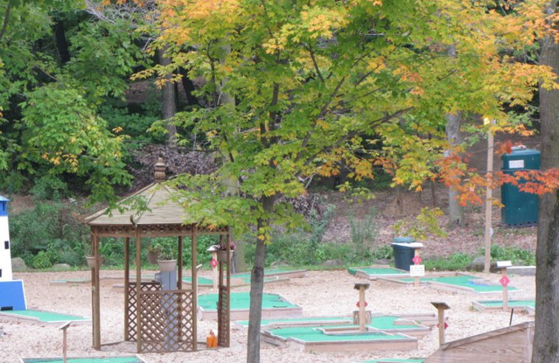 Mini-golf Course at Merry Mac's Campground