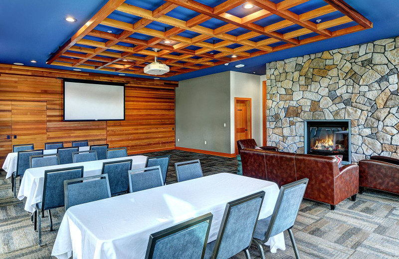 Meeting room at Snug Harbor Marina Resort.