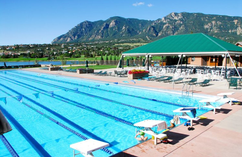 Aquatics Center at Cheyenne Mountain Resort.