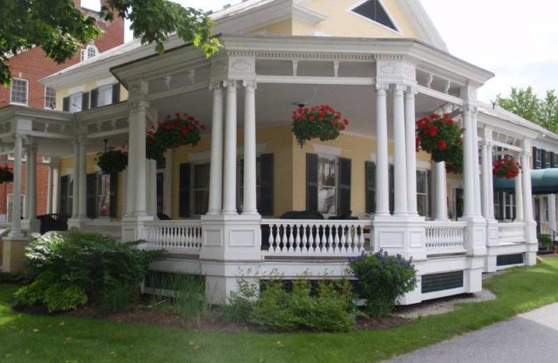 Porch view of The Inn at Montpelier.