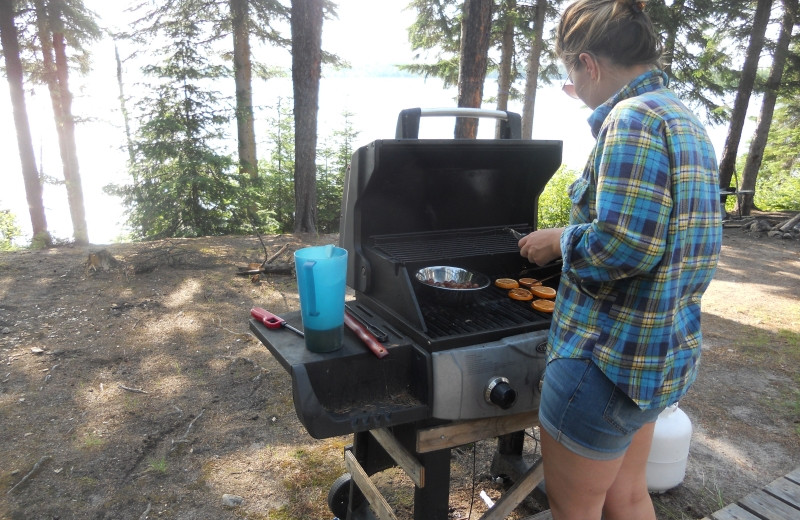 Grill at Clark's Resorts & Outposts.