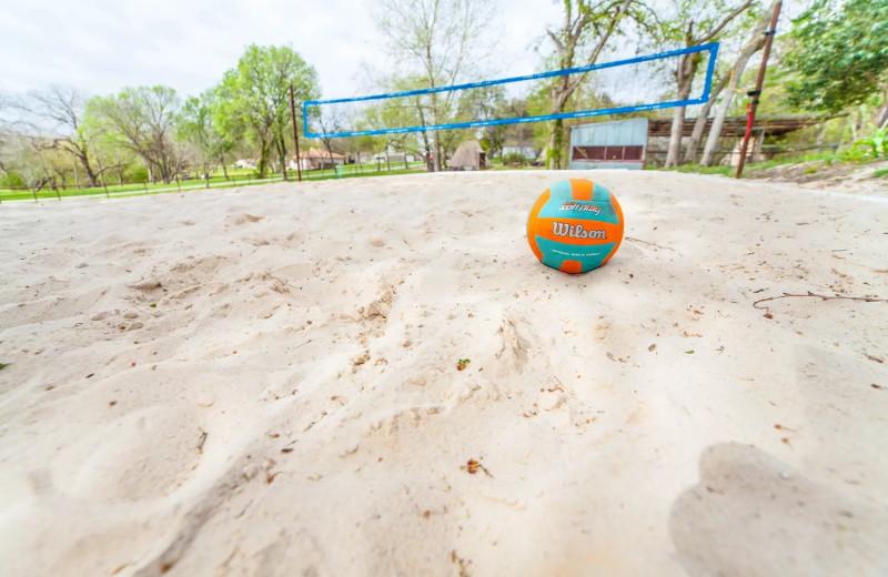 Volleyball at Geronimo Creek Retreat.
