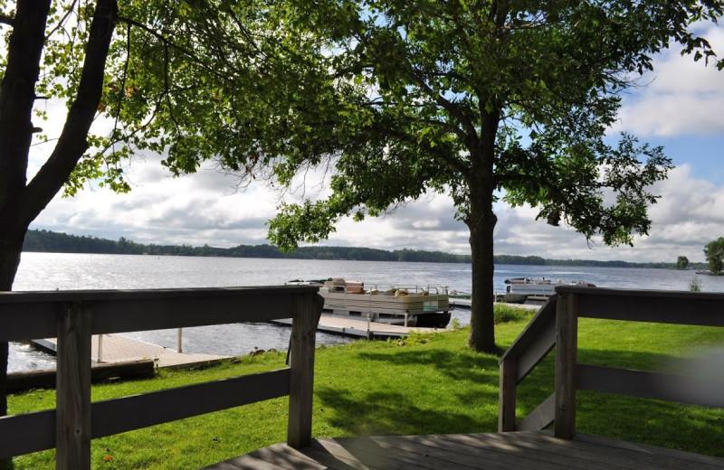 Lake view at Paul Bunyan Resort.
