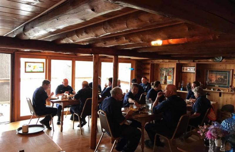 Dining at Arrowhead Lodge & Resort.