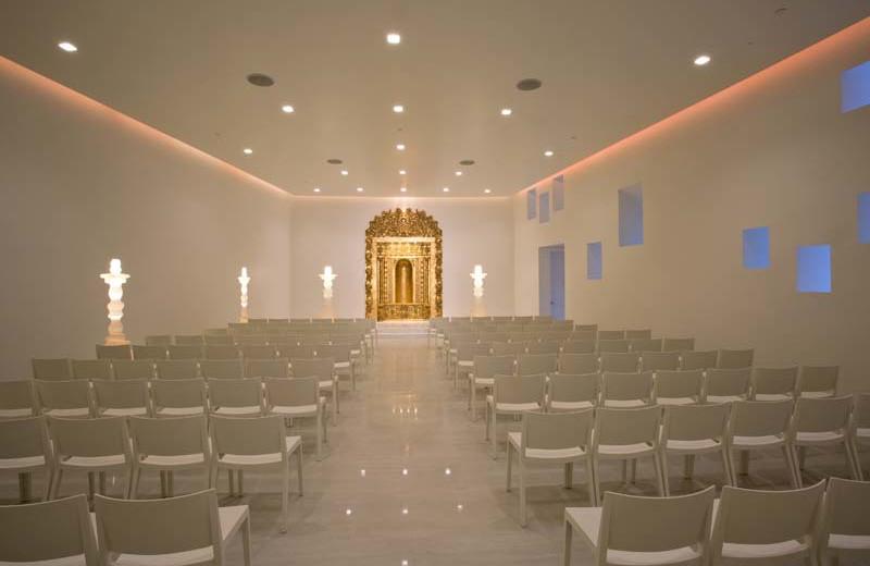 Wedding chapel at Eldorado Hotel.