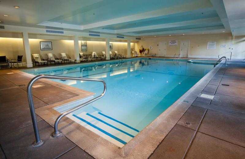 Indoor pool at Ocean Edge Resort & Golf Club.