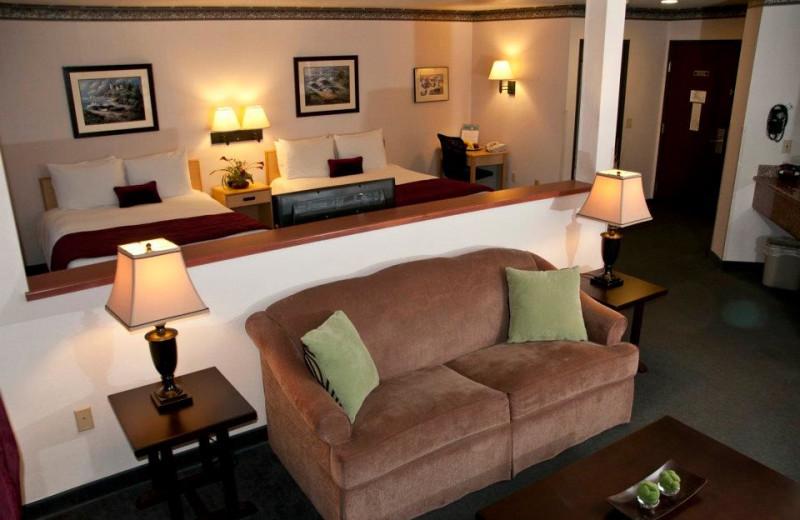 Family suite at The Garibaldi House Inn & Suites.