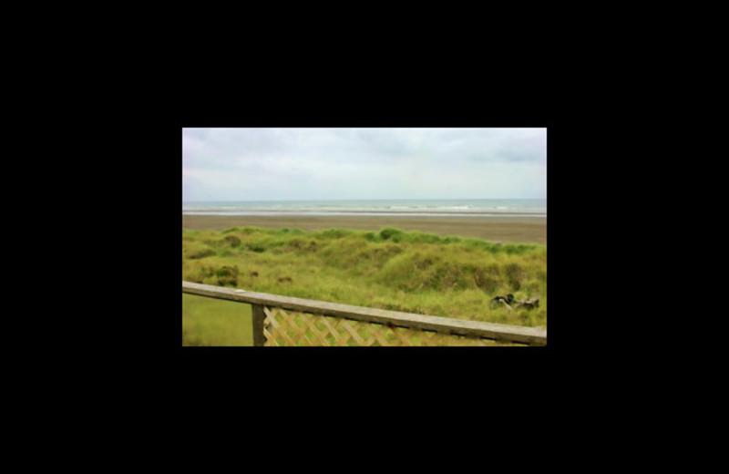 Beach view at Ocean Shores Ocean View Homes.