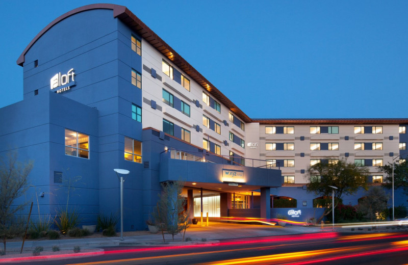 Exterior view of Aloft Scottsdale.