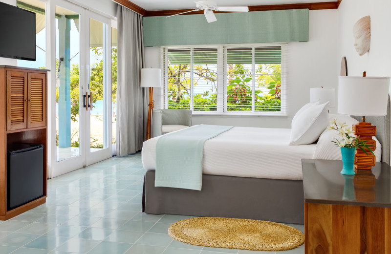 Guest room at Couples Resorts Negril.