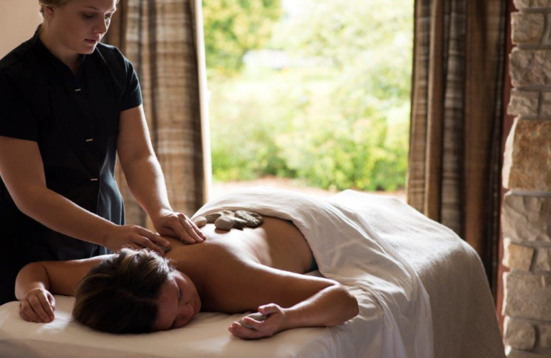 Massages at The Osthoff Resort.