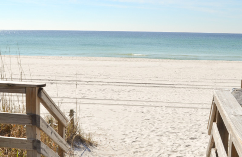 Boardwalk Access to the beach at Boardwalk Beach Resort Hotel & Convention Center