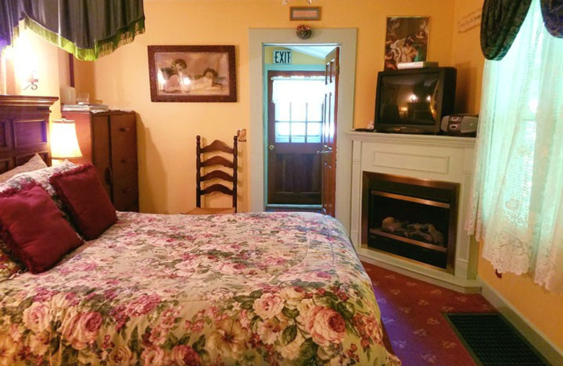 Guest room at Angels' Watch Inn Bed & Breakfast.