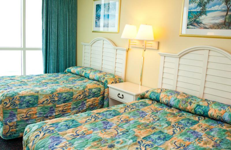 Guest room at Avista Resort.