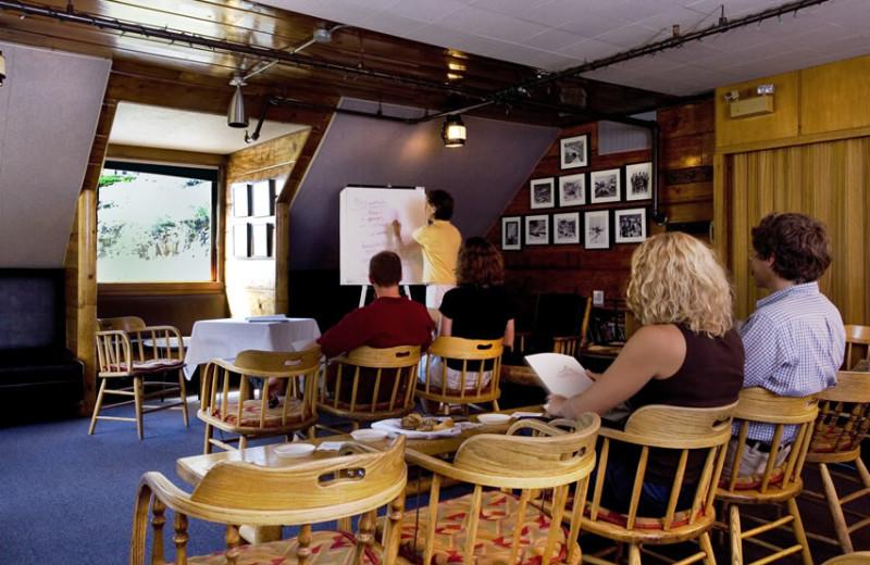 Meetings at Alta Lodge.