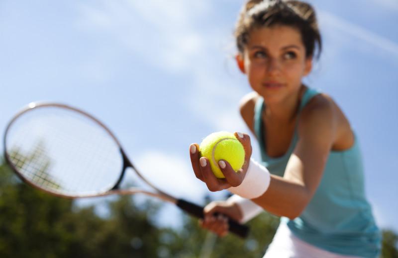 Tennis at Black Butte Ranch.