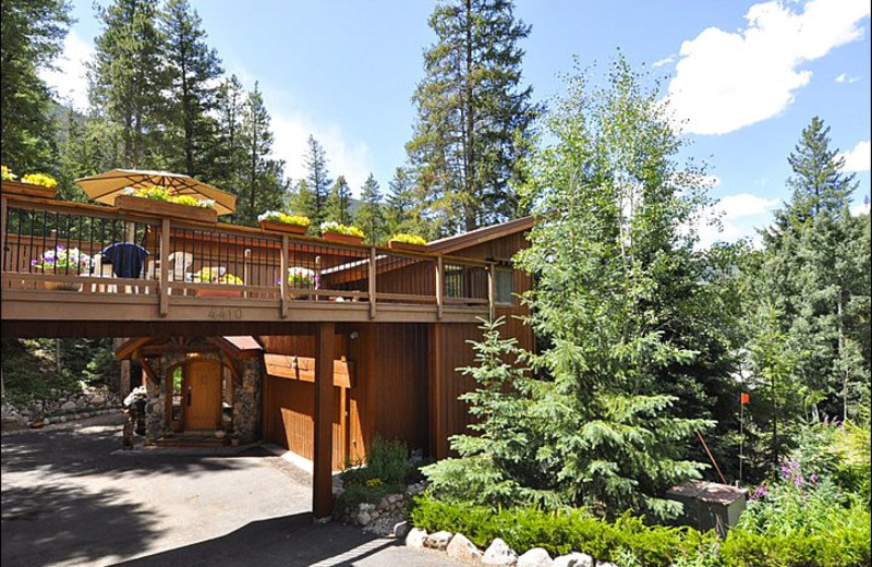 Rental exterior at Vail Rentals by Owner.