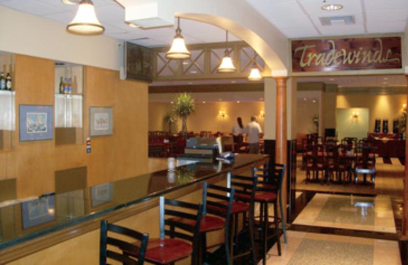 Tradewinds Bar & Restaurant at Best Western Baltimore.