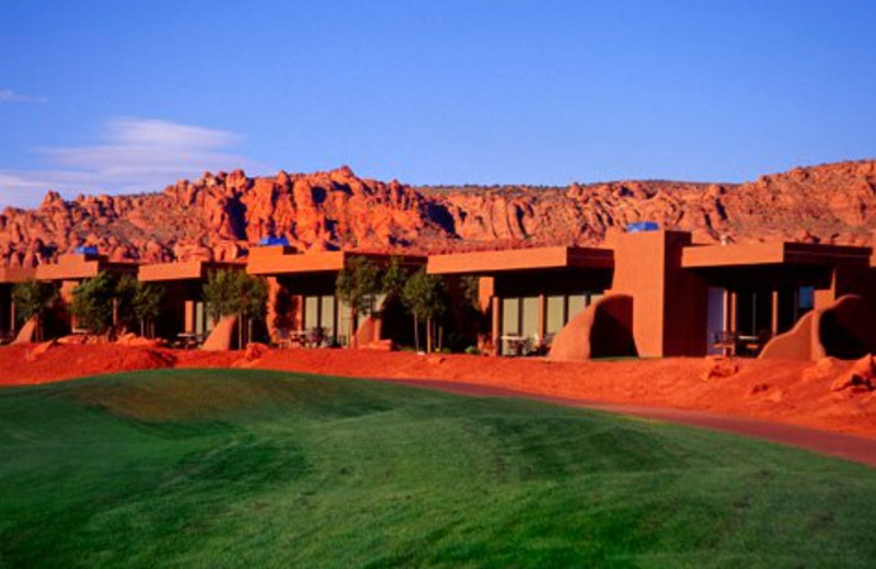 Exterior view of The Inn at Entrada.