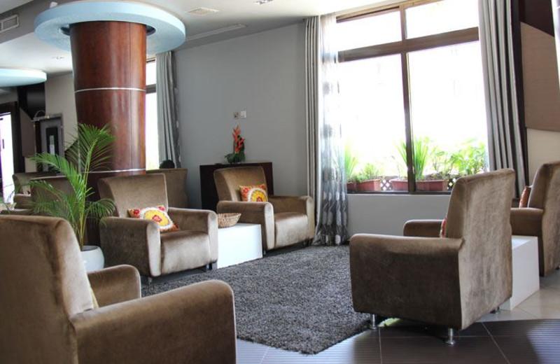 Lobby at Best Western Peninsula.