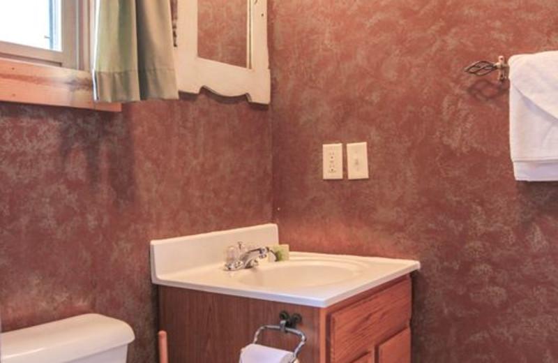 Bathroom at Pine Cone.