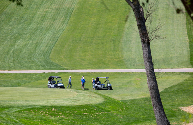 Play a round of golf with family and friends at the 18-hole Lake Junaluska Golf Course.