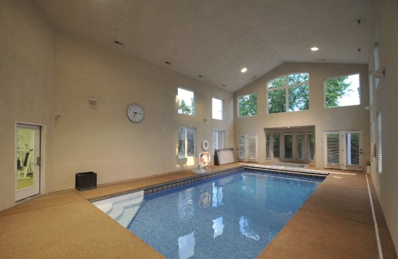 Rental indoor pool at Lakeside Resort Properties.