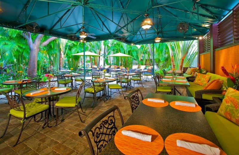 Outdoor dining at The Inn at Key West.