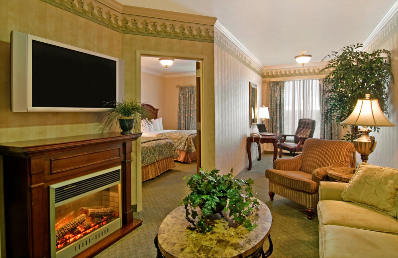 Guest suite at The Best Western Abbey Inn Hotel.