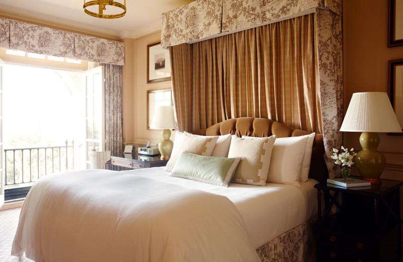 Guest room at The Hay-Adams.