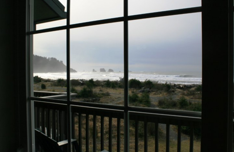 View from Quileute Oceanside Resort.