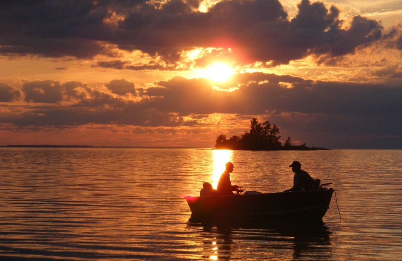 Fishing at Idle Tyme Fishing Camp