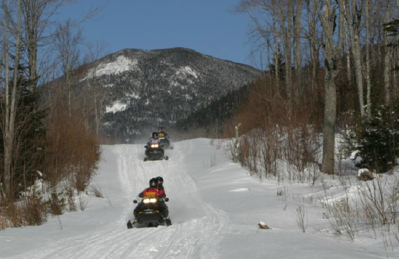 Winter activities at Northern Outdoors.