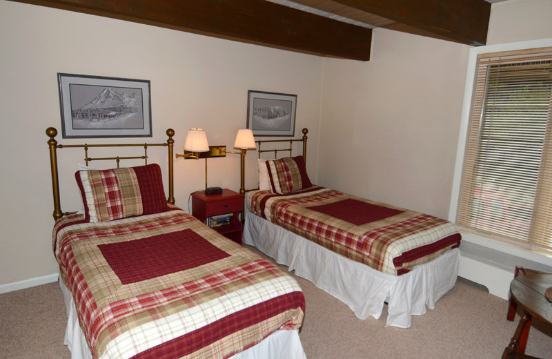 Rental bedroom at Frias Properties of Aspen - Chateau Dumont #2.