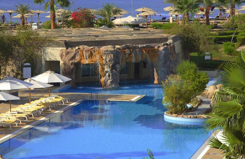 Exterior view of Sharm El Sheikh Marriot Beach Resort.
