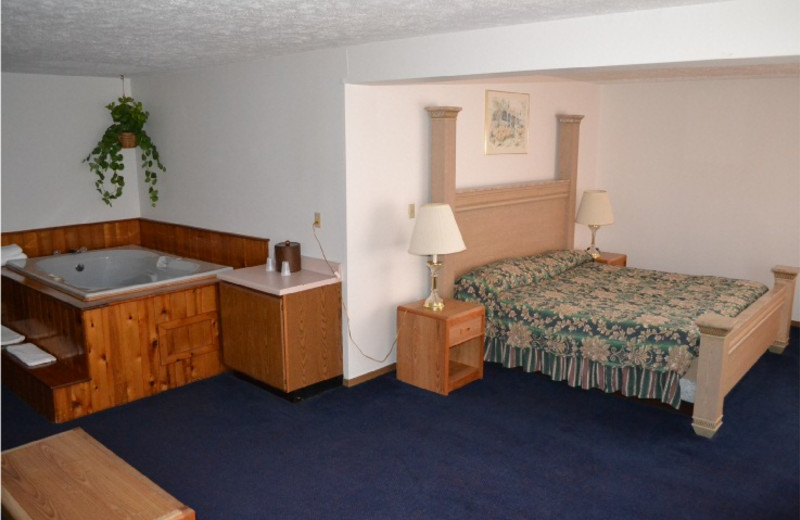 Guest Room at the Sky Lodge Inn & Suites
