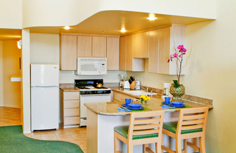 Kitchen at the Carlsbad Seapointe Resort