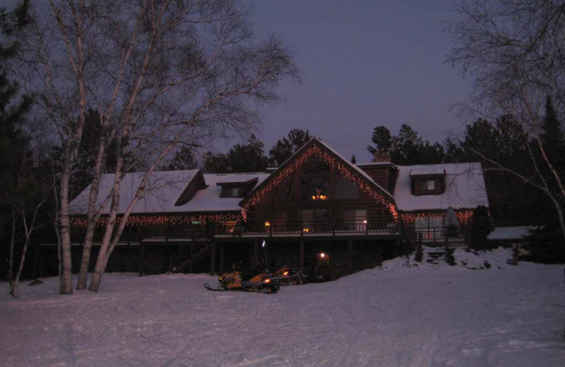 Exterior view of Totagatic Lodge.