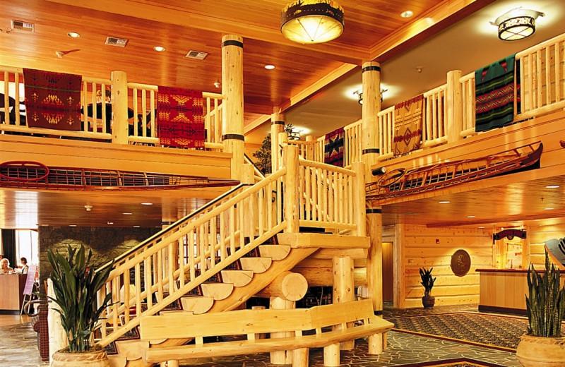 Lobby area at The Heathman Lodge.