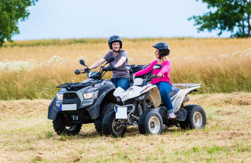 ATV at Kiamichi Country Cabins.