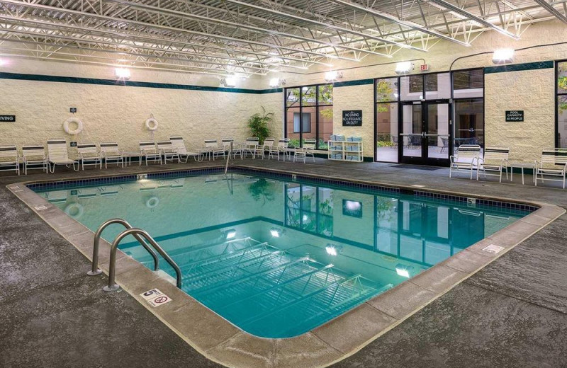 Indoor pool at Homewood Suites by Hilton Minneapolis – Mall of America.