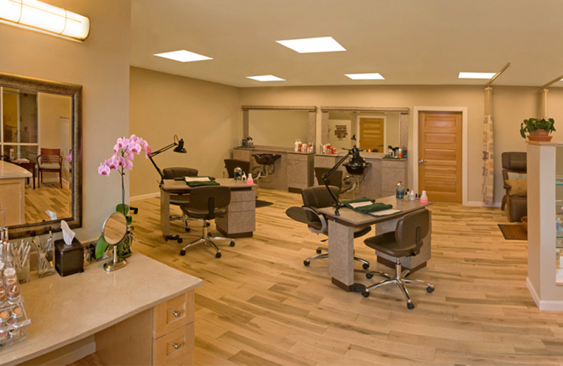 Salon at The Essex Resort & Spa.