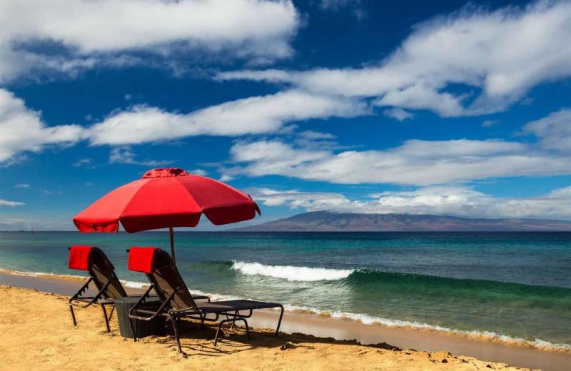 Beach at Honua Kai Resort & Spa.